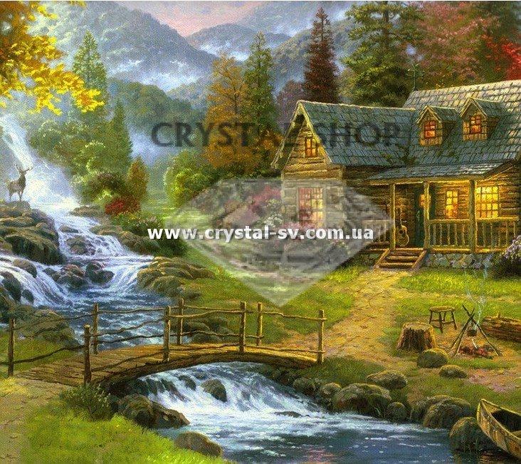 Вышивка картин горы