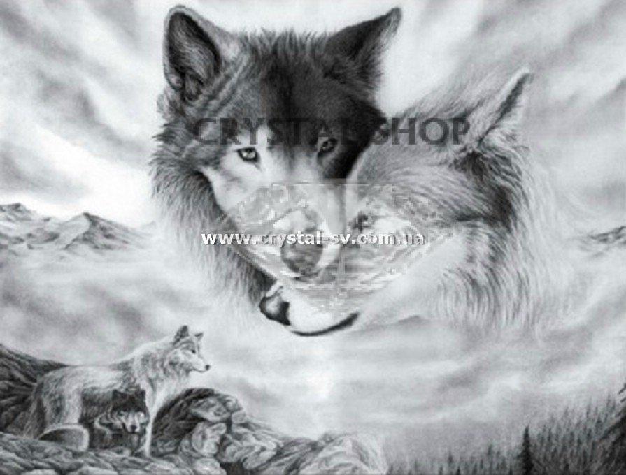 Вышивка волки купить украина