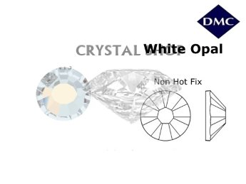 Стразы DMC non Hot Fix White Opal ss6 (2 мм).