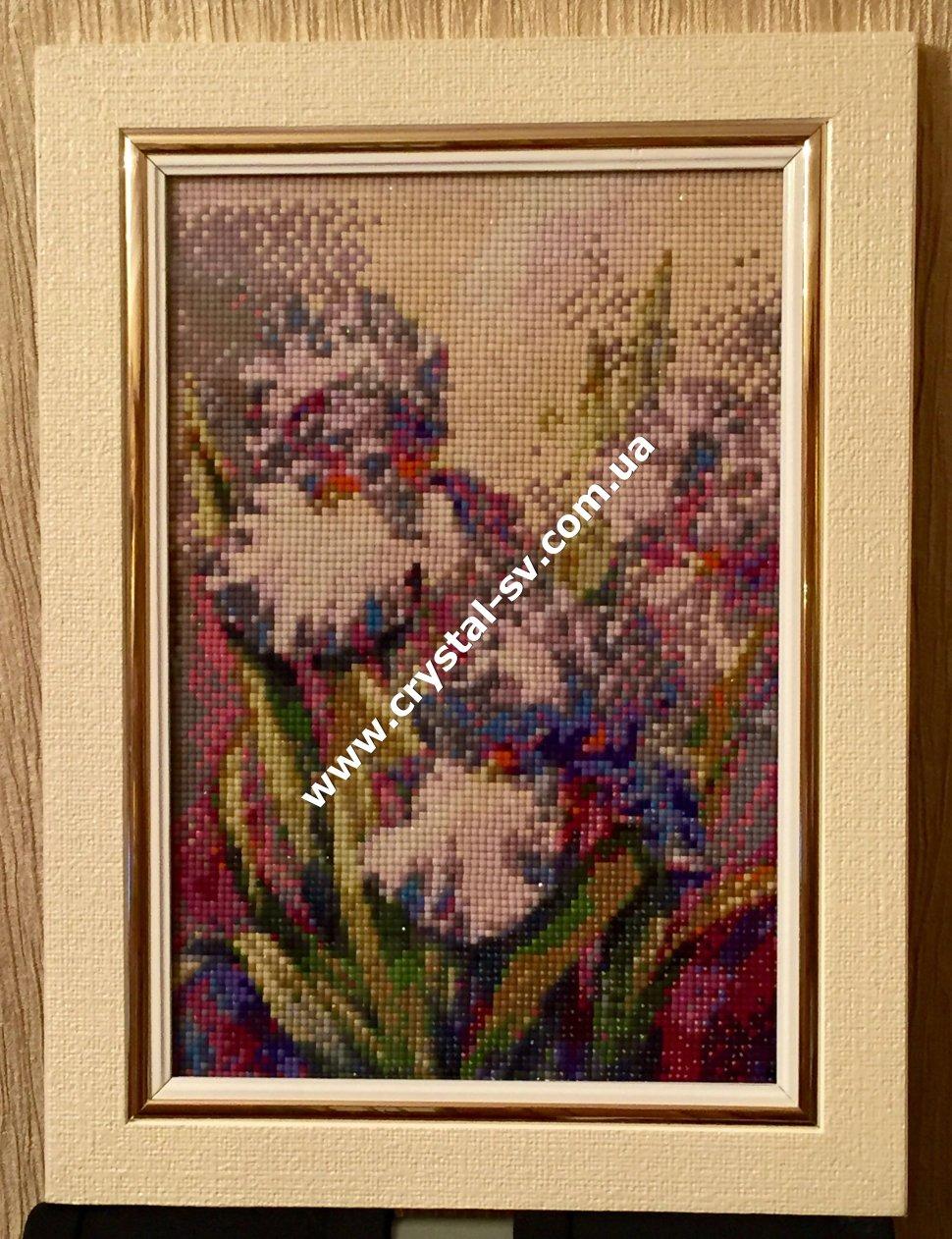 Купить готовые вышивки цветы