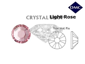 стразы купить DMC non Hot Fix Lt. Rose ss16 (4мм). Цена за 100шт.