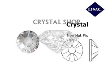Стразы DMC non Hot Fix Crystal ss12 (3-3.2 мм).
