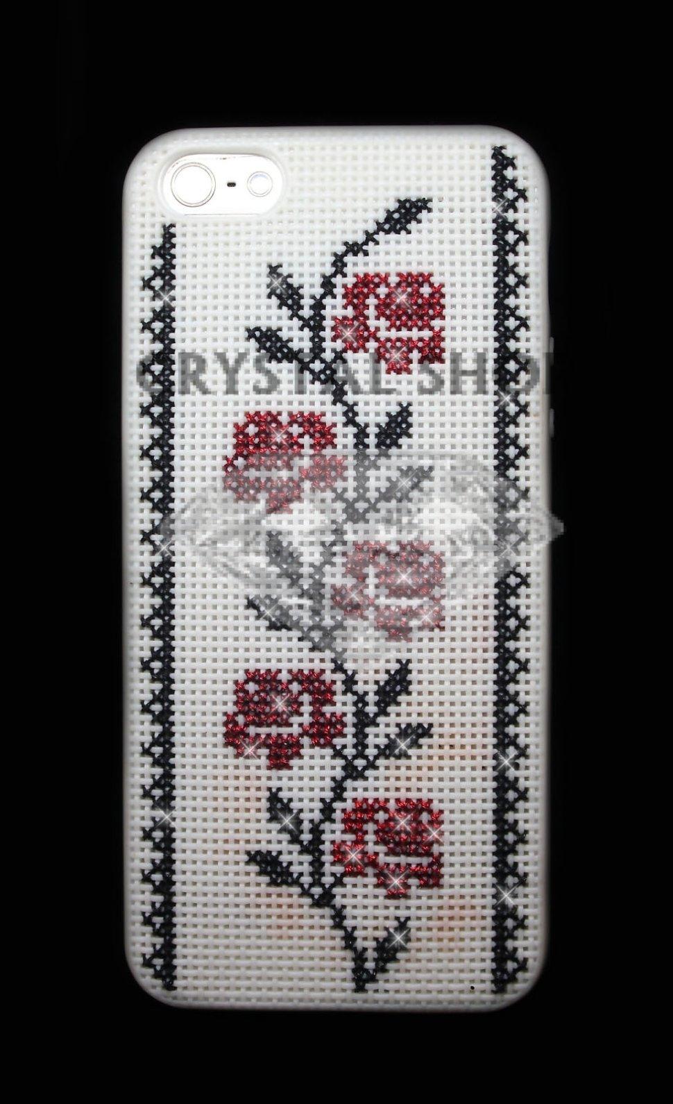 схема для вышивания на селиконовом чехле для айфона