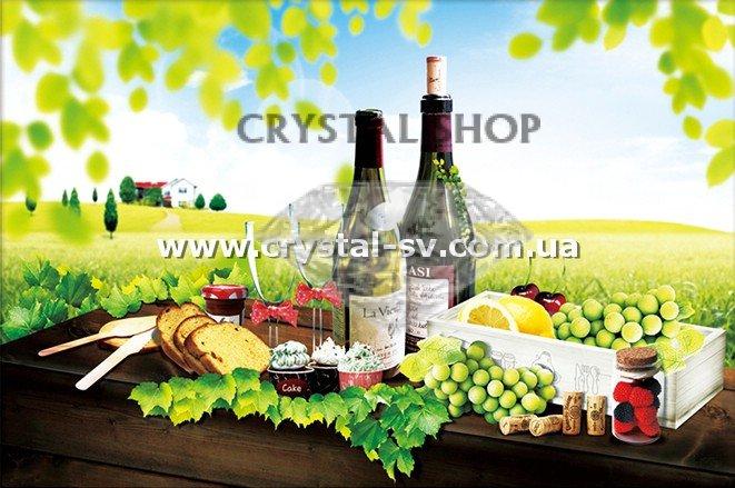 Вышивка вино и виноград