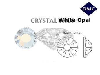 Стразы DMC non Hot Fix White Opal ss12 (3-3.2 мм).