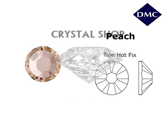 Стразы DMC non Hot Fix Peach ss12 (3-3.2 мм). фото 1 — CRYSTAL SHOP