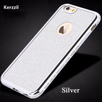 Чехол iphone 6 6s Силикон GOLDEN sumple and Luxurious SILVER