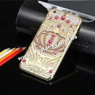 Чехол iphone 6 plus CROWN Gold Pink