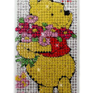Чехол для Apple iPhone 5/5s стразы Fashion Diamond Crystal из страз Viny Pooh