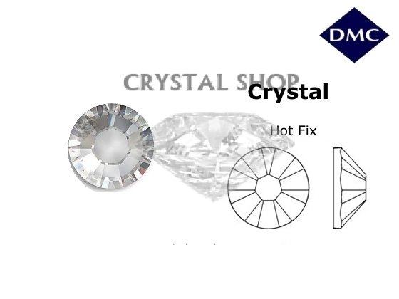 DMC hotfix Сrystal ss20(5мм). 100шт фото 1 — CRYSTAL SHOP