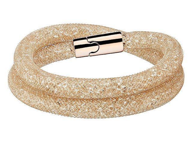 Браслет Сваровски Stardust Deluxe Bracelet Beige (S: 38 cm) фото 1 — CRYSTAL SHOP