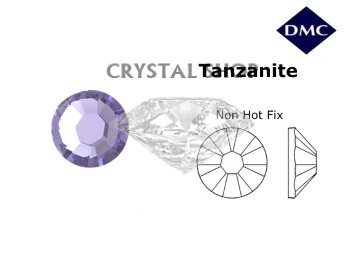 Стразы DMC non Hot Fix Tanzanite ss6 (2 мм).