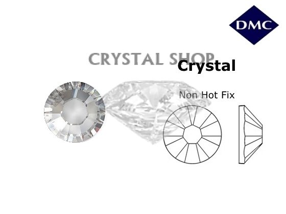 Стразы DMC non Hot Fix Crystal ss8 (2.3-2.5 мм). фото 1 — CRYSTAL SHOP