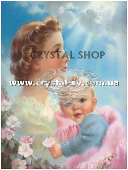 Набор мозаика стразами Мама (40х30) фото 1 — CRYSTAL SHOP