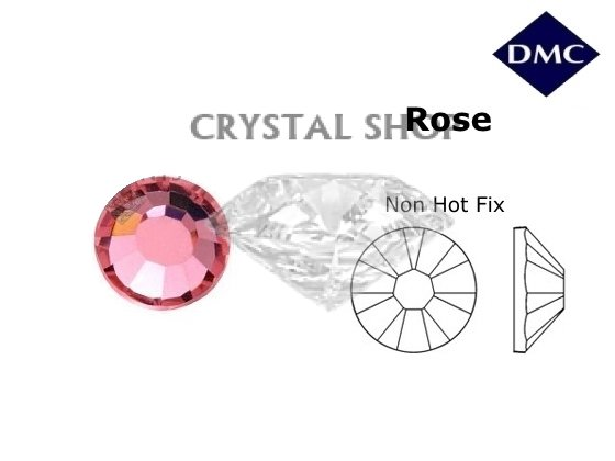 Стразы DMC non Hot Fix Rose ss8 (2.3-2.5 мм). фото 1 — CRYSTAL SHOP