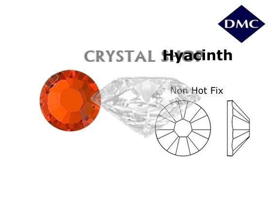 купить стразы DMC non Hot Fix Hyacinth ss16 (4мм). Цена за 100шт. фото 1 — CRYSTAL SHOP