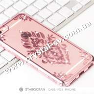 Чехол iphone 6 6s Силикон Secret Garden Flower ROSE