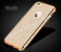 Чехол iphone 6 6s GOLDEN sumple and Luxurious GOLD