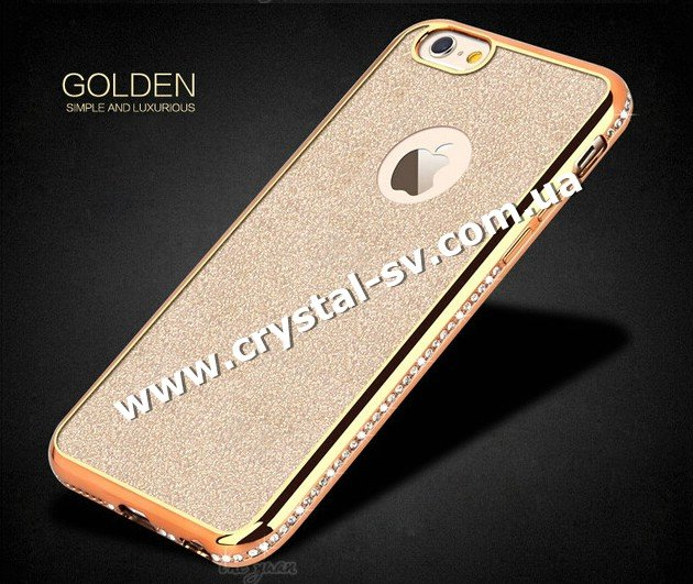 Чехол iphone 6 6s GOLDEN sumple and Luxurious GOLD фото 1 — CRYSTAL SHOP