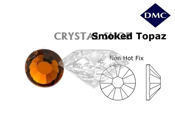 Стразы DMC non Hot Fix Smoked Topaz ss3 (1,3 мм) фото 1 — CRYSTAL SHOP
