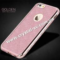 Чехол iphone 6 6s Силикон GOLDEN sumple and Luxurious ROSE GOLD